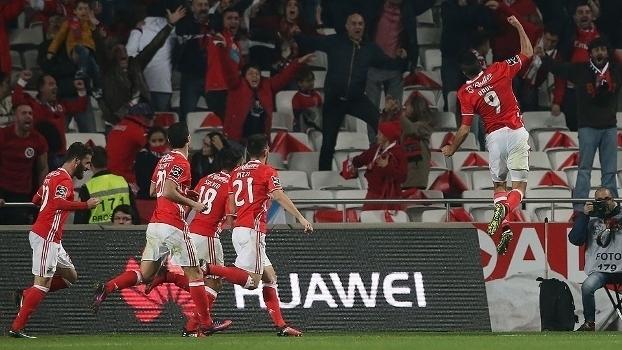 Português: Gols de Benfica 2 x 1 Sporting