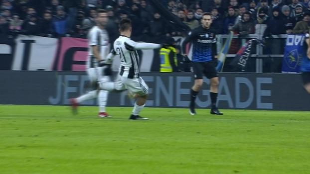 Tempo real: GOLAÇO da Juventus! Dybala pega voleio sem deixar bola cair e faz pintura