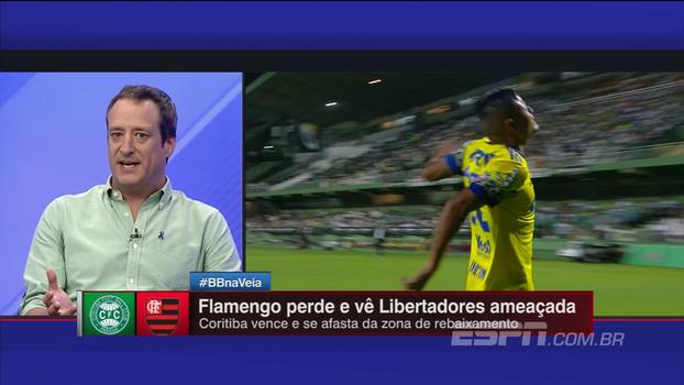 Por problemas de postura, Gian pondera se Flamengo precisa recomeçar e mudar elenco