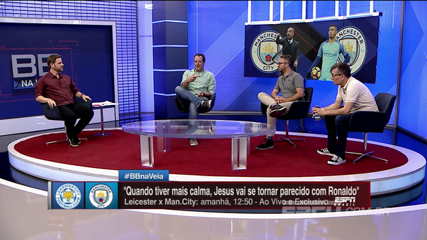 Após comparações feitas por Guardiola, Gian elogia: 'Toda entrevista dele é interessante demais'