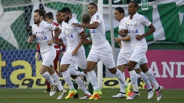 Brasileiro: Gol de Chapecoense 0 x 1 Santos