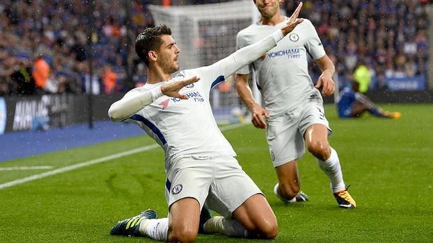 Veja os melhores momentos da vitória do Chelsea sobre o Leicester por 2 a 1