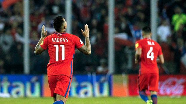 Assista aos gols da vitória do Chile sobre o Equador por 2 a 1!