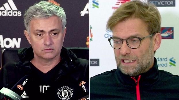 Mourinho destaca lado emocional do clássico; Klopp diz: 'Somos o Liverpool, vamos mostrar isso'