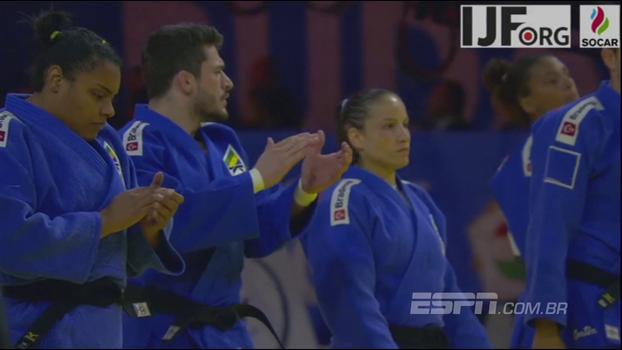 Terceiro no geral e prata nas equipes mistas: veja a honrosa participação do judô brasileiro no Mundial