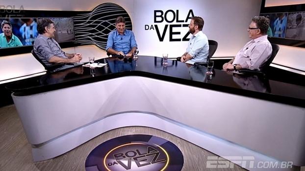 'Jogador de futebol não é escravo, pode se divertir'; Renato Gaúcho é o Bola da Vez de terça (14)