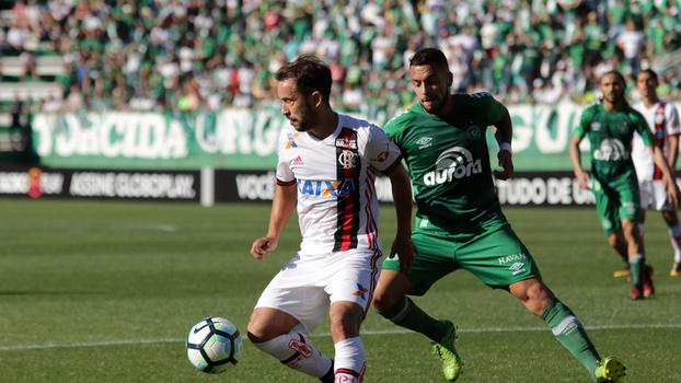 Brasileiro: Gol de Chapecoense 0 x 1 Flamengo
