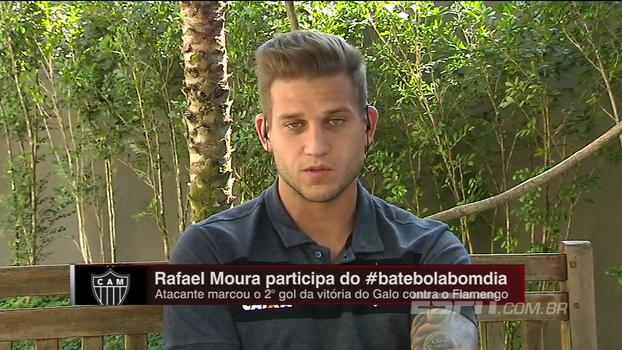 Rafael Moura destaca importância para o Atlético-MG de ter voltado a vencer em casa