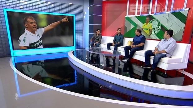 Alê Oliveira analisa escolhas de Eduardo Baptista no Palmeiras
