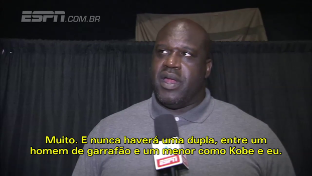 Shaquille O'Neal: 'Nunca haverá outra dupla como Kobe e eu'
