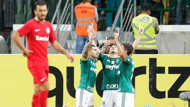 Copa do Brasil: Gol de Palmeiras 1 x 0 Internacional