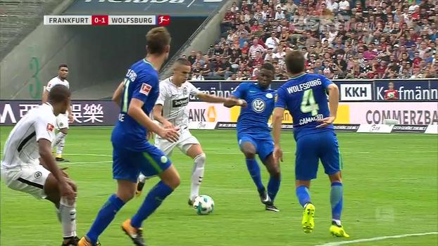 Assista aos melhores momentos da vitória do Wolfsburg sobre o Eintracht Frankfurt por 1 a 0!
