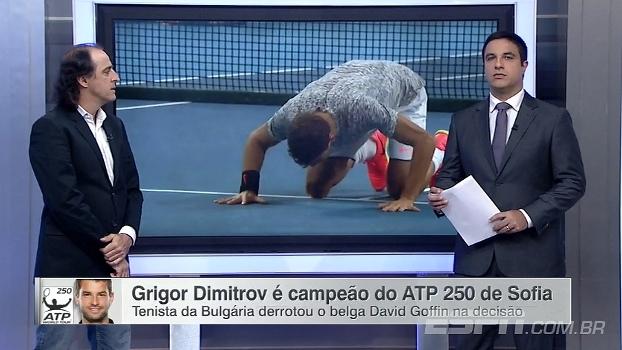 Para Meligeni, evolução do búlgaro Grigor Dimitrov 'é fruto de trabalho muito forte'