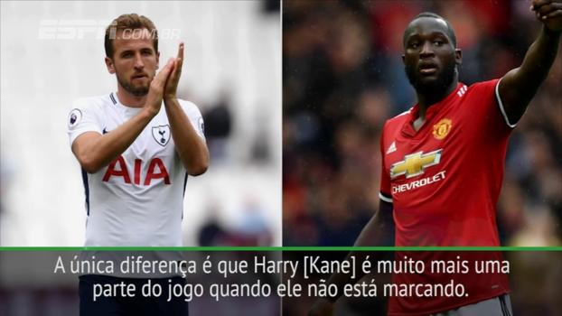 Klopp faz comparação entre Harry Kane e Lukaku e diz qual é a única diferença entre eles