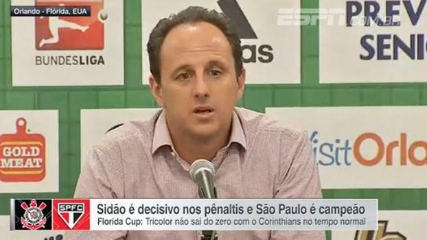 Ceni não fala em titularidade no gol do São Paulo: 'Não temos pressa para resolver'