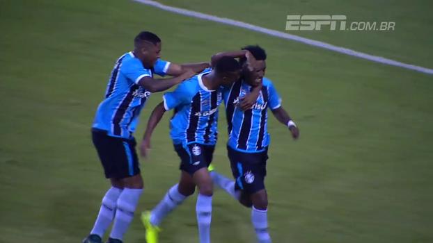 Gabriel Biteco marca, Grêmio elimina Flamengo e avança no Brasileirão sub-20