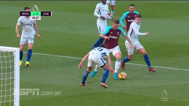 Assista aos melhores momentos da vitória do West Ham por 1 a 0 sobre o Chelsea