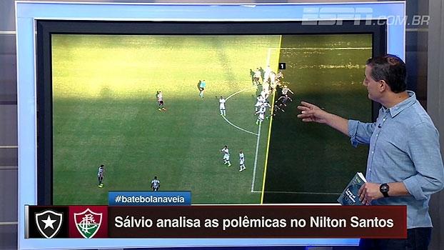 Sálvio critica bandeira em 'gol completamente irregular' do Botafogo: 'Tem que ir para geladeira'