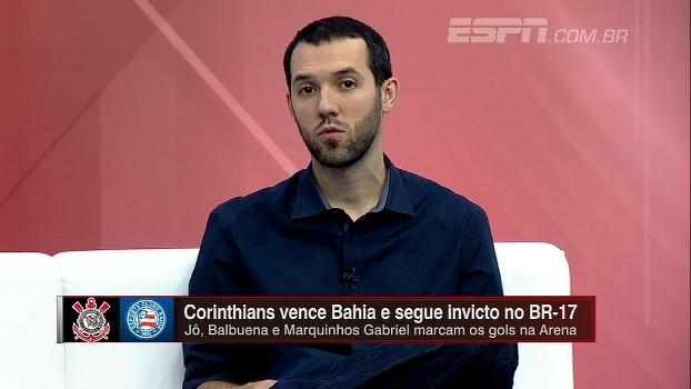 Para Hofman, Corinthians é o time mais organizado do Brasileiro e tem sofrido menos com desfalques