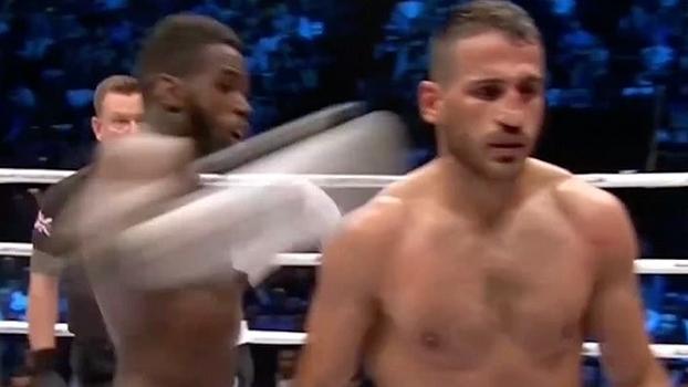 Nocaute insano dá início a briga generalizada dentro do ringue; veja