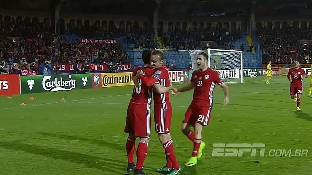 Com gols de Mkhitaryan e Ozbiliz, Armênia faz 2 a 0 no Cazaquistão pelas Eliminatórias