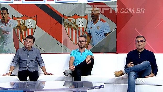 Calçade elogia partida de Ganso, mas alerta: 'Não vai passar a jogar porque fez dois gols'