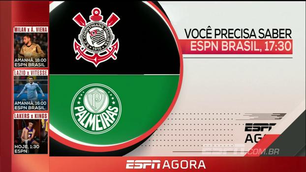 Corinthians e Palmeiras na decisão da Copa do Brasil Sub-17 e rodada dupla da NBA; veja a programação desta quarta