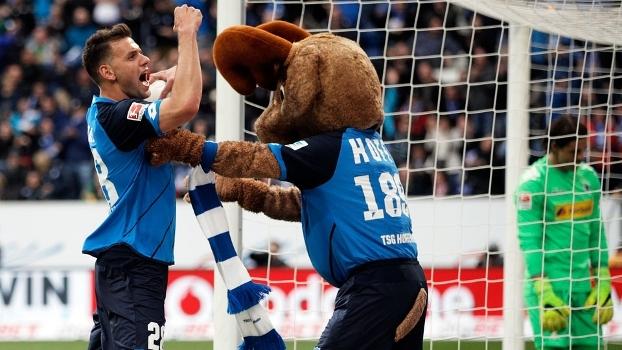 Assista aos gols da vitória do Hoffenheim sobre o Borussia Monchengladbach por 5 a 3