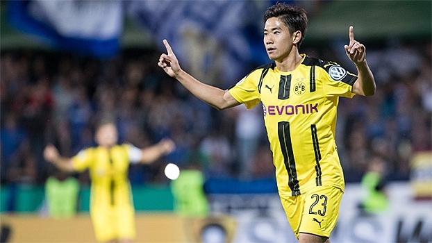 Copa da Alemanha: Gols de Eintracht Trier 0 x 3 Borussia Dortmund