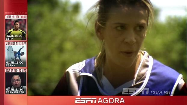 Repórter da ESPN participa de dia a dia em clube e mostra as dificuldades do futebol feminino no Bra