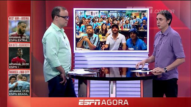 Eduardo Tironi: 'Com a força da camisa e jogando melhor no final, o Grêmio conseguiu a classificação'