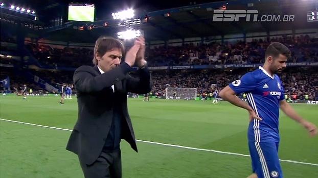 78fa9f1309 Gols de Hazard e falhas de goleiros marcaram a vitória do Chelsea sobre o Manchester  City