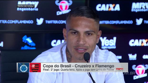 Guerrero mostra confiança em Muralha na final: 'Para nós, é uma honra ele estar no gol'