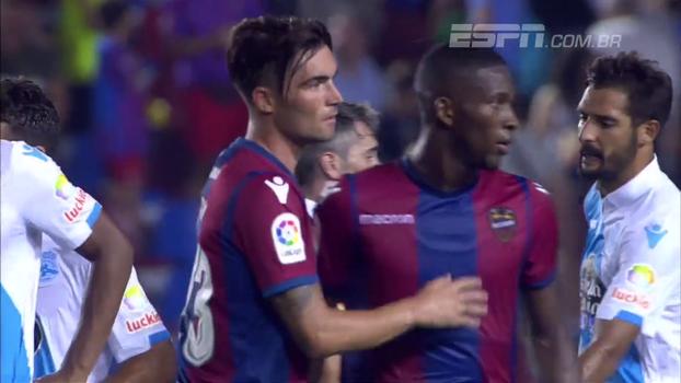 Assista aos melhores momentos do empate entre La Coruña e Levante em 2 a 2!