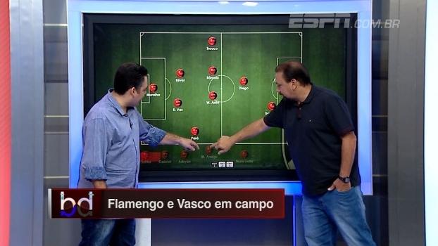 'Dupla BB' escala Flamengo e Vasco para o Clássico dos Milhões