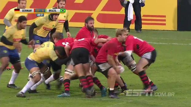 Veja como foi a partida de rugby entre Brasil e Alemanha, em Leipzig