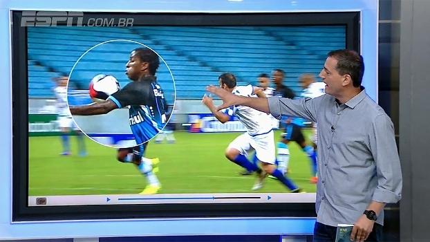 Gol do Grêmio foi irregular; Sálvio Spinola mostra