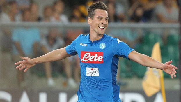 Assista aos gols da vitória do Napoli sobre o Hellas Verona por 3 a 1!