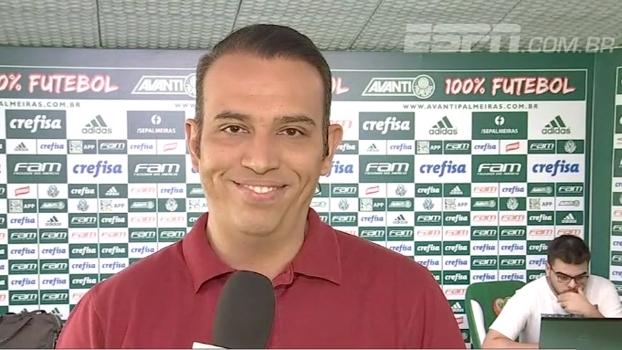 Diego Souza vem ou não? Eduardo de Meneses conta como foi o dia no Palmeiras