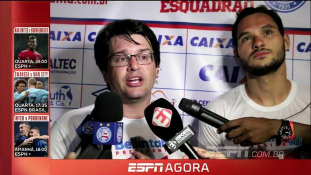 Novo presidente do Bahia exalta trabalho coletivo no clube: 'Vamos personificar um projeto enorme'