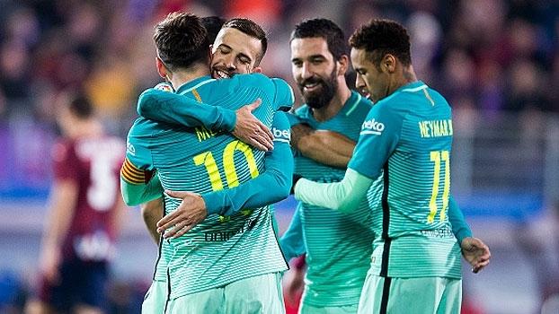 LaLiga: Gols de Eibar 0 x 4 Barcelona