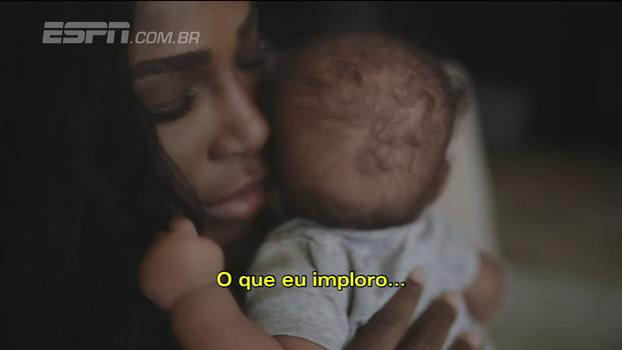 'Continue jogando, minha garota'; patrocinadora divulga vídeo de mensagem de Serena Williams à filha recém-nascida