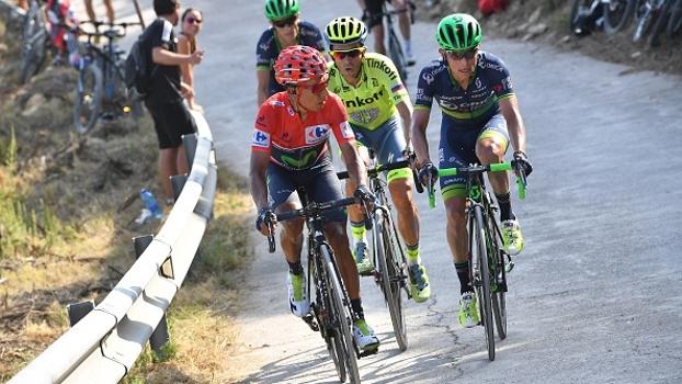 Suíço vence etapa 17 da Volta da Espanha; Quintana segue líder