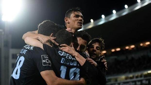 Português: Gols de Vitória de Guimarães 0 x 2 Porto