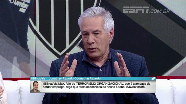 Max Gehringer comenta sobre demissões de treinadores no futebol e cita fanatismo e fator imponderável