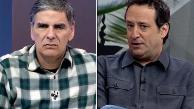 João 'Canalha' e Gian Oddi têm opiniões diferentes sobre a prancheta de Ceni; veja