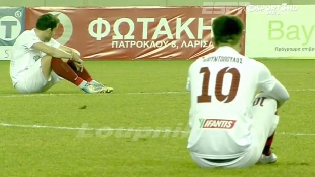Grécia: Jogadores protestam contra postura do governo com refugiados
