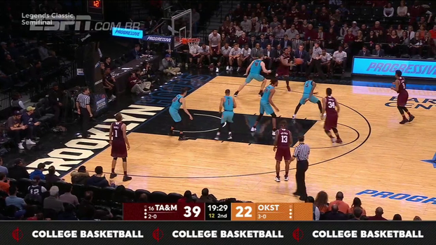 DJ Hogg anota 18 pontos, e Texas A&M vence Oklahoma State no basquete universitário; veja os melhores momentos