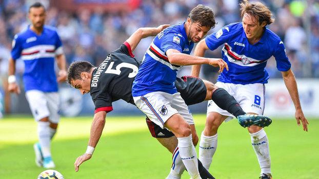 Campeonato Italiano: Gols de Sampdoria 2 x 0 Milan