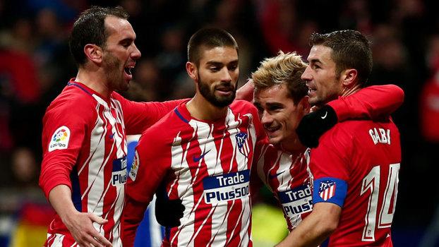 Assista aos gols de Atlético de Madri 2 x 1 Real Sociedad